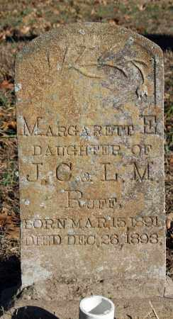 RUFF, MARGARETT E. - Searcy County, Arkansas | MARGARETT E. RUFF - Arkansas Gravestone Photos