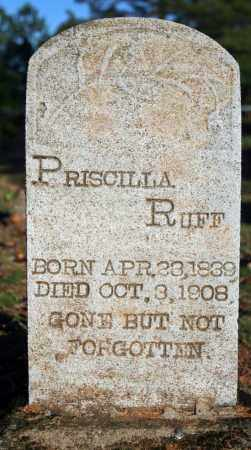 "RUFF, PRISCILLA ""CELIA"" (MCCUTCHEON) - Searcy County, Arkansas 