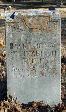 ROBERTSON RUFF, PARTHENA ELIZABETH - Searcy County, Arkansas | PARTHENA ELIZABETH ROBERTSON RUFF - Arkansas Gravestone Photos