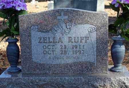 RUFF, ZELLA - Searcy County, Arkansas | ZELLA RUFF - Arkansas Gravestone Photos