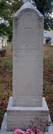 SANDERS, A.C. - Searcy County, Arkansas | A.C. SANDERS - Arkansas Gravestone Photos