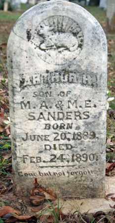 SANDERS, ARTHUR H. - Searcy County, Arkansas | ARTHUR H. SANDERS - Arkansas Gravestone Photos