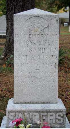 CATES SANDERS, NANCY - Searcy County, Arkansas | NANCY CATES SANDERS - Arkansas Gravestone Photos
