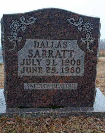 SARRATT, GEORGE DALLAS - Searcy County, Arkansas | GEORGE DALLAS SARRATT - Arkansas Gravestone Photos