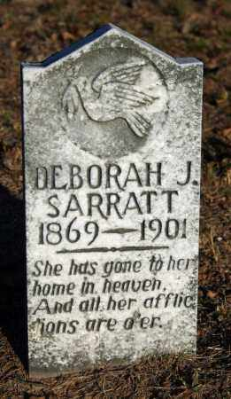SARRATT, DEBORAH J. - Searcy County, Arkansas | DEBORAH J. SARRATT - Arkansas Gravestone Photos