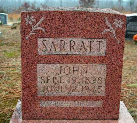 SARRATT, JOHN - Searcy County, Arkansas | JOHN SARRATT - Arkansas Gravestone Photos