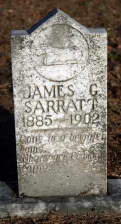 SARRATT, JAMES G. - Searcy County, Arkansas | JAMES G. SARRATT - Arkansas Gravestone Photos