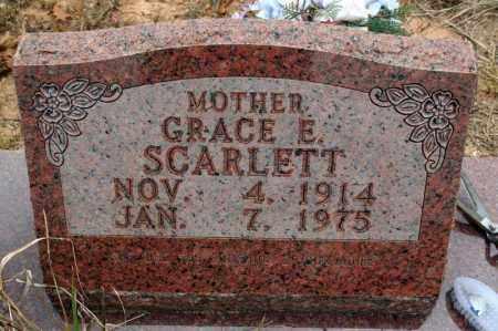 HOUSLEY SCARLETT, GRACE E. - Searcy County, Arkansas | GRACE E. HOUSLEY SCARLETT - Arkansas Gravestone Photos