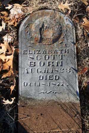 SCOTT, ELIZABATH - Searcy County, Arkansas   ELIZABATH SCOTT - Arkansas Gravestone Photos