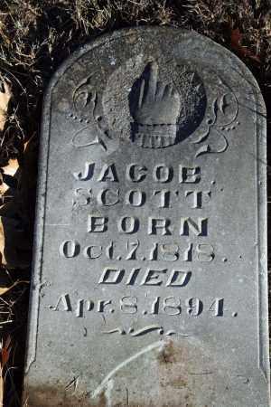 SCOTT, JACOB - Searcy County, Arkansas   JACOB SCOTT - Arkansas Gravestone Photos