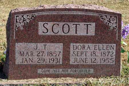 SCOTT, J.T. - Searcy County, Arkansas | J.T. SCOTT - Arkansas Gravestone Photos