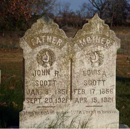 SCOTT, JOHN  R. - Searcy County, Arkansas | JOHN  R. SCOTT - Arkansas Gravestone Photos