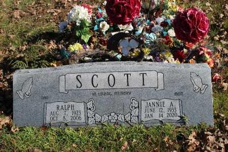 SCOTT, JANNIE A. - Searcy County, Arkansas | JANNIE A. SCOTT - Arkansas Gravestone Photos