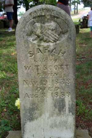 SCOTT, SARAH - Searcy County, Arkansas   SARAH SCOTT - Arkansas Gravestone Photos