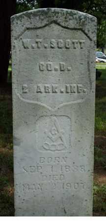 SCOTT (VETERAN UNION), W.T. - Searcy County, Arkansas | W.T. SCOTT (VETERAN UNION) - Arkansas Gravestone Photos