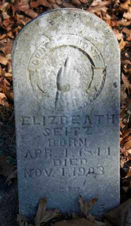 SEITZ, ELIZBEATH - Searcy County, Arkansas | ELIZBEATH SEITZ - Arkansas Gravestone Photos