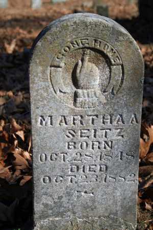 SEITZ, MARTHA A. - Searcy County, Arkansas | MARTHA A. SEITZ - Arkansas Gravestone Photos