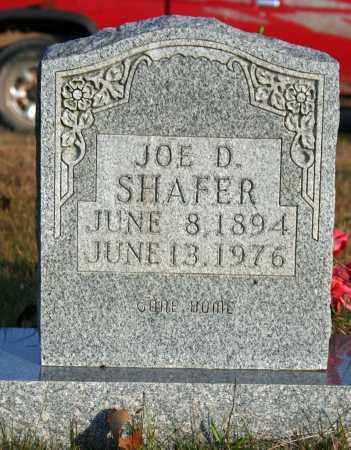 SHAFER, JOE D. - Searcy County, Arkansas   JOE D. SHAFER - Arkansas Gravestone Photos