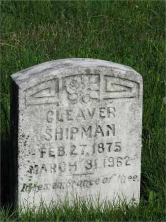 SHIPMAN, CLEAVER - Searcy County, Arkansas | CLEAVER SHIPMAN - Arkansas Gravestone Photos