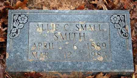 SMALL SMITH, ALLIE C. - Searcy County, Arkansas | ALLIE C. SMALL SMITH - Arkansas Gravestone Photos