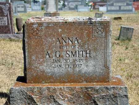 SMITH, ANNA - Searcy County, Arkansas | ANNA SMITH - Arkansas Gravestone Photos