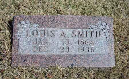 SMITH, LOUIS A. - Searcy County, Arkansas | LOUIS A. SMITH - Arkansas Gravestone Photos