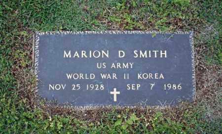 SMITH (VETERAN 2 WARS), MARION D. - Searcy County, Arkansas | MARION D. SMITH (VETERAN 2 WARS) - Arkansas Gravestone Photos