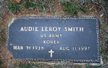 SMITH (VETERAN KOR, AUDIE LEROY - Searcy County, Arkansas | AUDIE LEROY SMITH (VETERAN KOR - Arkansas Gravestone Photos