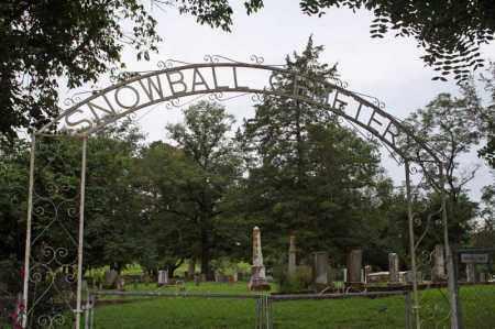 *SNOWBALL CEMETERY GATE,  - Searcy County, Arkansas |  *SNOWBALL CEMETERY GATE - Arkansas Gravestone Photos
