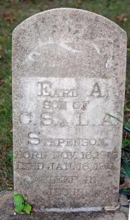 STEPHENSON, EARL A. - Searcy County, Arkansas   EARL A. STEPHENSON - Arkansas Gravestone Photos