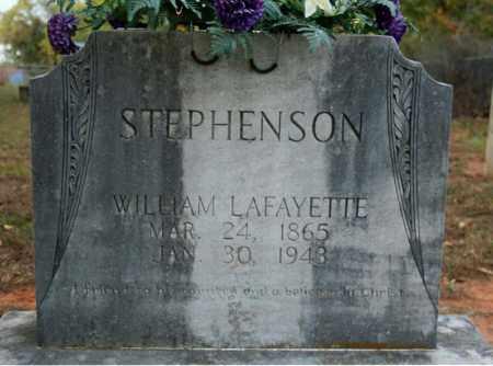 STEPHENSON, WILLIAM LAFAYETTE - Searcy County, Arkansas | WILLIAM LAFAYETTE STEPHENSON - Arkansas Gravestone Photos