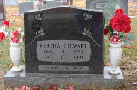 LAWRENCE STEWART, BERTHA - Searcy County, Arkansas | BERTHA LAWRENCE STEWART - Arkansas Gravestone Photos
