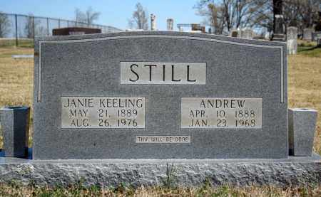 STILL, ANDREW - Searcy County, Arkansas   ANDREW STILL - Arkansas Gravestone Photos