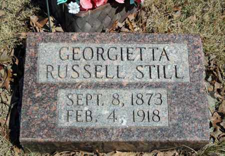 STILL, GEORGIETTA - Searcy County, Arkansas | GEORGIETTA STILL - Arkansas Gravestone Photos