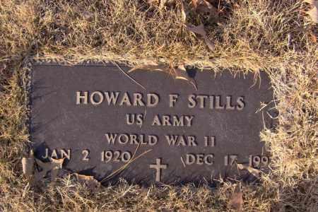 STILLS  (VETERAN WWII), HOWARD F - Searcy County, Arkansas   HOWARD F STILLS  (VETERAN WWII) - Arkansas Gravestone Photos