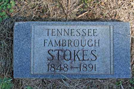 FAMBROUGH STOKES, TENNESSEE - Searcy County, Arkansas | TENNESSEE FAMBROUGH STOKES - Arkansas Gravestone Photos