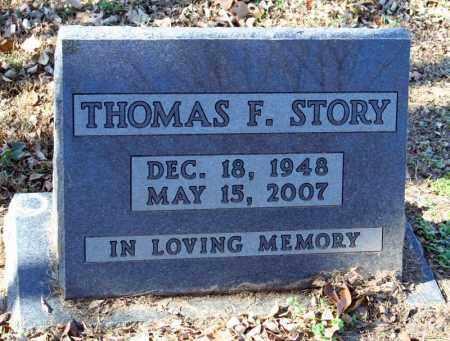 STORY, THOMAS F. - Searcy County, Arkansas | THOMAS F. STORY - Arkansas Gravestone Photos