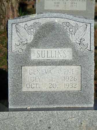 SULLINS, GENEVA ALENE - Searcy County, Arkansas | GENEVA ALENE SULLINS - Arkansas Gravestone Photos