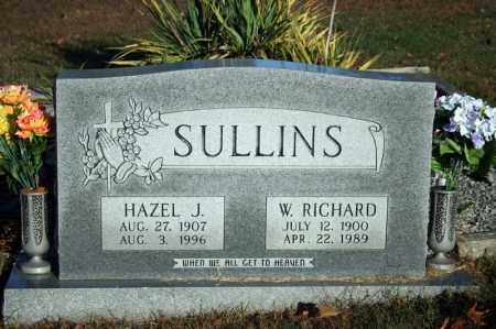 SULLINS, WILLIAM RICHARD - Searcy County, Arkansas | WILLIAM RICHARD SULLINS - Arkansas Gravestone Photos