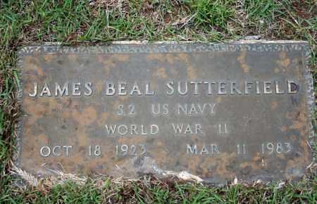 SUTTERFIELD (VETERAN WWII), JAMES BEAL - Searcy County, Arkansas | JAMES BEAL SUTTERFIELD (VETERAN WWII) - Arkansas Gravestone Photos