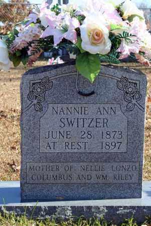 SWITZER, NANNIE ANN - Searcy County, Arkansas | NANNIE ANN SWITZER - Arkansas Gravestone Photos