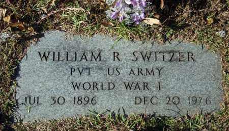 SWITZER (VETERAN WWI), WILLIAM R - Searcy County, Arkansas | WILLIAM R SWITZER (VETERAN WWI) - Arkansas Gravestone Photos