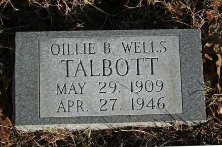 TALBOTT, OILLIE B. - Searcy County, Arkansas | OILLIE B. TALBOTT - Arkansas Gravestone Photos