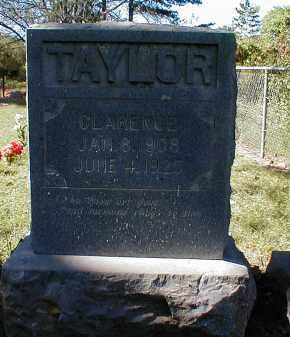TAYLOR, CLARENCE - Searcy County, Arkansas | CLARENCE TAYLOR - Arkansas Gravestone Photos