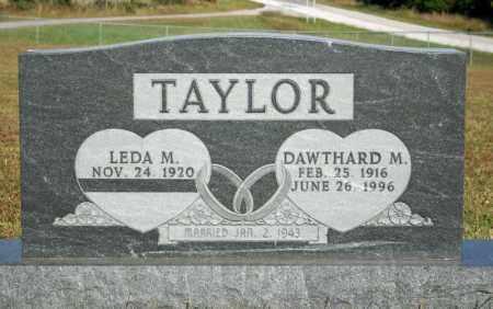 TAYLOR, DAWTHARD M. - Searcy County, Arkansas | DAWTHARD M. TAYLOR - Arkansas Gravestone Photos