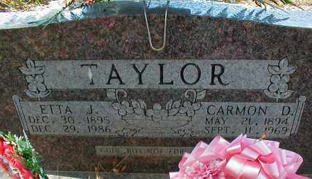 TAYLOR, CARMON D - Searcy County, Arkansas   CARMON D TAYLOR - Arkansas Gravestone Photos