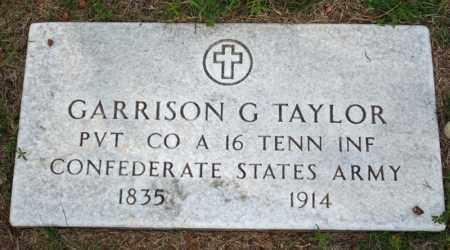 TAYLOR  (VETERAN CSA), GARRISON GREENWOOD - Searcy County, Arkansas | GARRISON GREENWOOD TAYLOR  (VETERAN CSA) - Arkansas Gravestone Photos