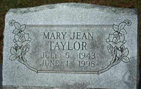 TAYLOR, MARY JEAN - Searcy County, Arkansas | MARY JEAN TAYLOR - Arkansas Gravestone Photos