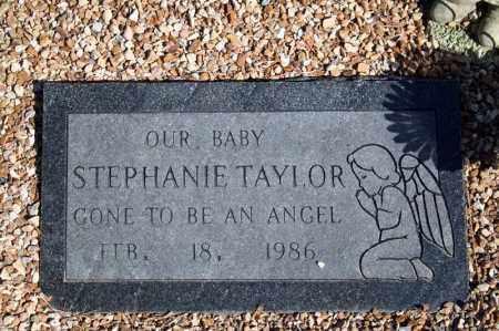 TAYLOR, STEPHANIE - Searcy County, Arkansas   STEPHANIE TAYLOR - Arkansas Gravestone Photos