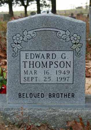 THOMPSON, EDWARD G. - Searcy County, Arkansas | EDWARD G. THOMPSON - Arkansas Gravestone Photos